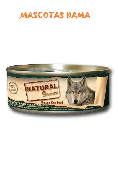 Ultra Premium Quality Dog Food Alimento complementario para perros formulado Sin conservantes, Saborizantes ni Colorantes artificiales. Elaborado con los mejores cortes de carne de pollo.Cada lata esta llena de ingredientes de la más alta calidad,con alto contenido en carne y completamente libre de aditivos.
