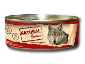 Alimento complementario para perros formulado Sin conservantes, Saborizantes ni Colorantes artificiales. Elaborado con los mejores cortes de carne de pollo.Cada lata esta llena de ingredientes de la más alta calidad,con alto contenido en carne y completamente libre de aditivos.