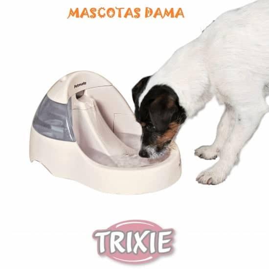 Fuente Automática De Luxe Perros-Gatos, 3 l, Crema