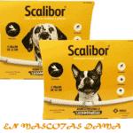 Scalibor el único collar con efecto repelente (antialimentación)frente a los flebotomos transmisores de la leishmaniosis. Scalibor tambien protege frente a pulgas y garrapatas.El perro recibe la cantidad necesaria de deltametrina día tras día,hasta 6 meses.