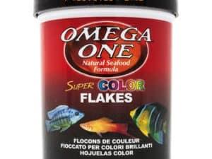 comida en escama para peces tropicales