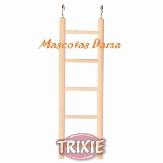 Escalera, madera, 4 peldaños, 20 cm