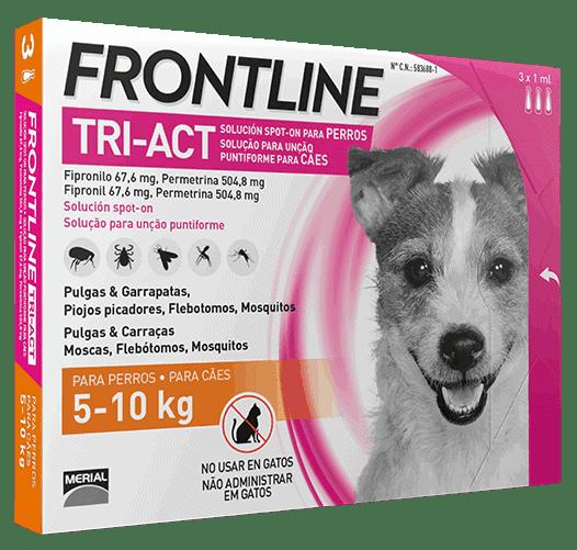 Frontline tri-act de 5-10kg