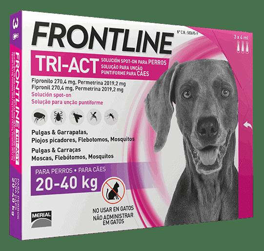 Frontline tri-act de 20-40kg