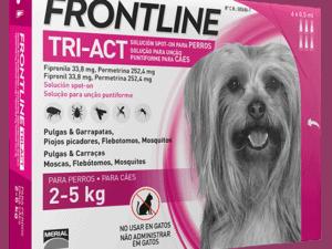 pipetas frontline tri-act de 2-5kg