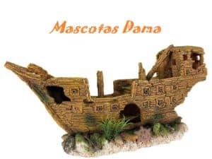 Barco Naufragado, 36 cm