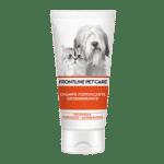 El Champú cachorro de FRONTLINE PET CARE es una fórmula suave de protección para cachorros de perro y gato de más de dos meses de edad. Contiene aceite de Inca inchi, rico en ácidos omega grasos, que suaviza y protege la piel para conseguir un pelo brillante y sano.