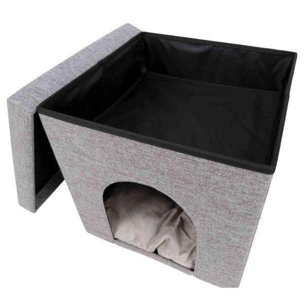 El objetivo de este diseño es que tu gato tenga la máxima comodidad y se sienta seguro.