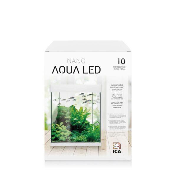 AQUALED Crystal posee un diseño único en el mercado e incorpora LEDs SAMSUNG. Además, en este kit incorporamos todo lo que necesita para comenzar. KIT BASE incluye*: filtro interior, pantalla integrada, lámpara LED, alimento para peces, acondicionadores y guía del acuario.