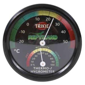 Termómetro higrómetro analógico