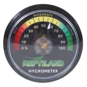Higrómetro, analógico