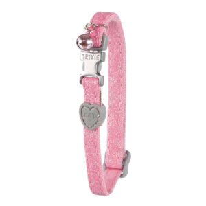 Collar gato rosa